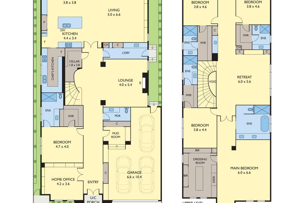 Floorplan of Homely house listing, 10 Sunburst Avenue, Balwyn North VIC 3104