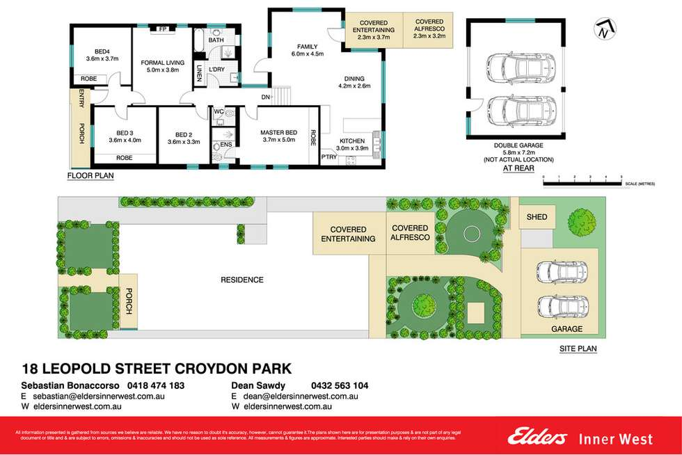 Floorplan of Homely house listing, 18 Leopold Street, Croydon Park NSW 2133