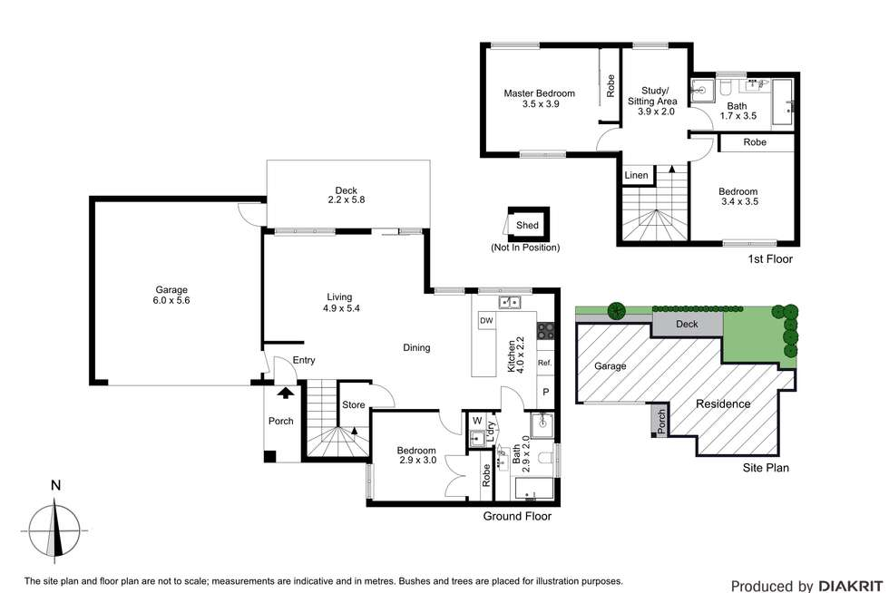 Floorplan of Homely townhouse listing, 3/21 Canterbury Road, Blackburn VIC 3130