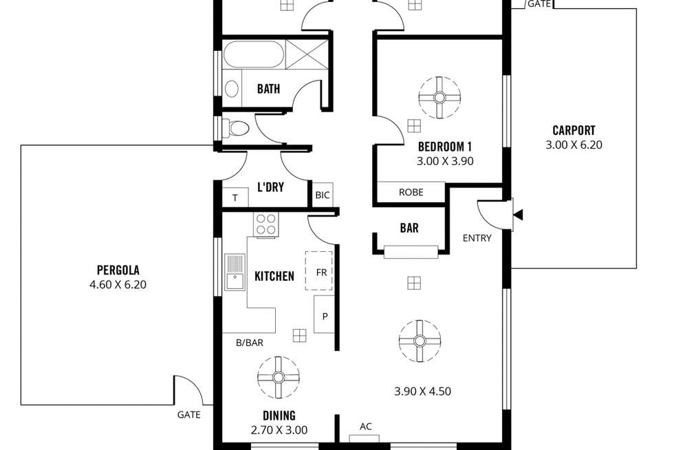 Floorplan of Homely house listing, 4 Beck Court, Paralowie SA 5108