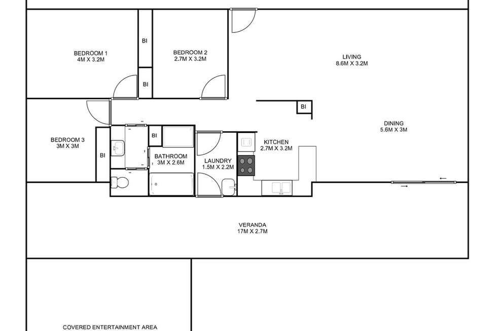 Floorplan of Homely house listing, 24 Bessie Street, South Grafton NSW 2460