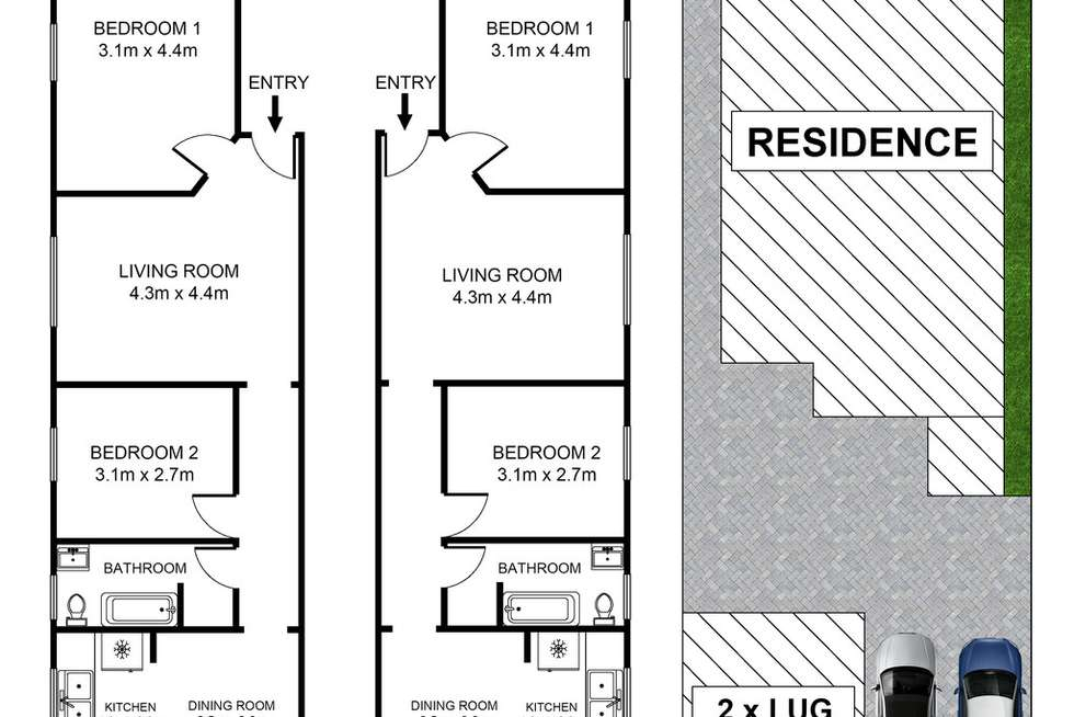 Floorplan of Homely blockOfUnits listing, 122 Francis Street, Bondi Beach NSW 2026