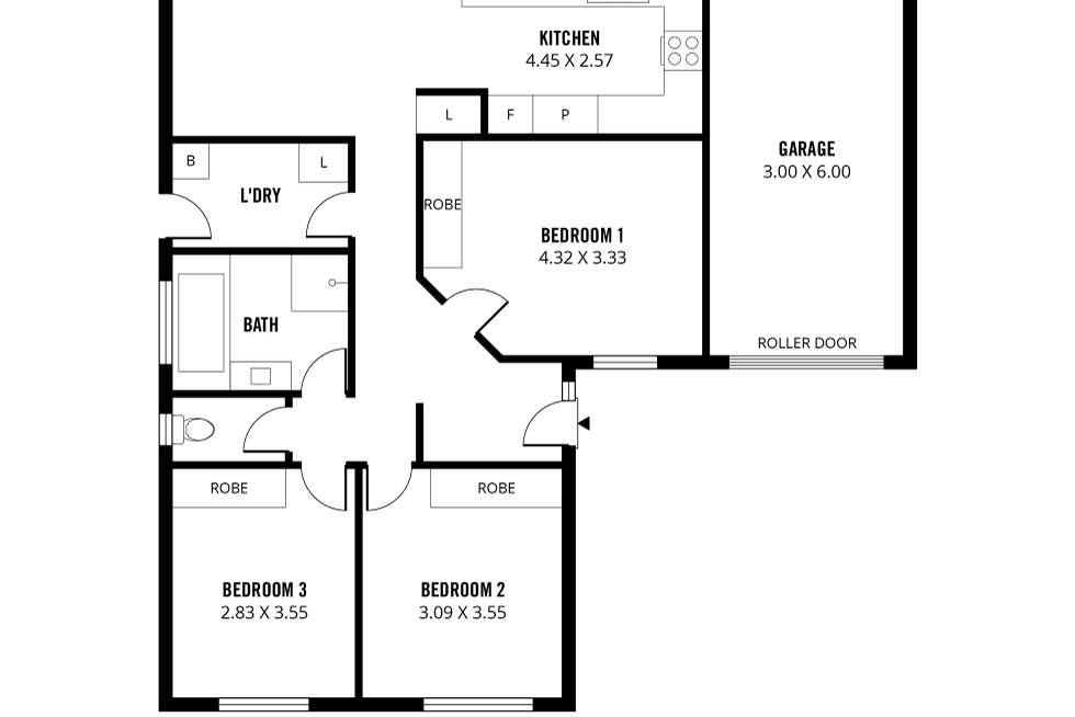 Floorplan of Homely house listing, 25 Roper Street, Salisbury SA 5108