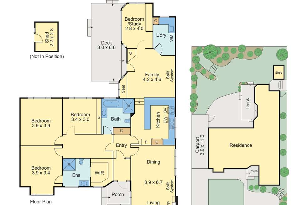 Floorplan of Homely house listing, 29 Marchiori Road, Blackburn North VIC 3130