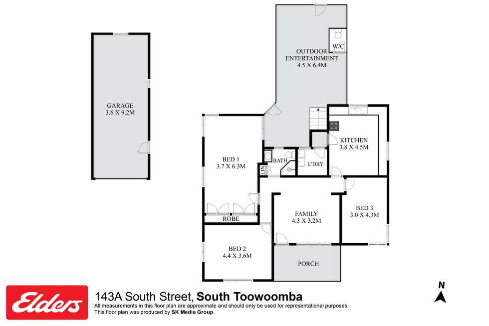 Floorplan of Homely house listing, 143A South Street, Centenary Heights QLD 4350