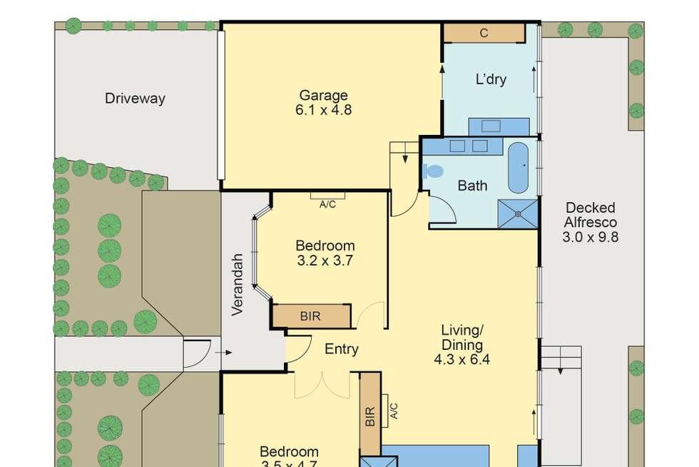 Floorplan of Homely house listing, 19 Yerrin Street, Balwyn VIC 3103