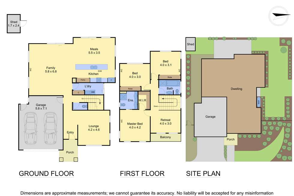 Floorplan of Homely townhouse listing, 9 Rindlebrook Place, Wonga Park VIC 3115