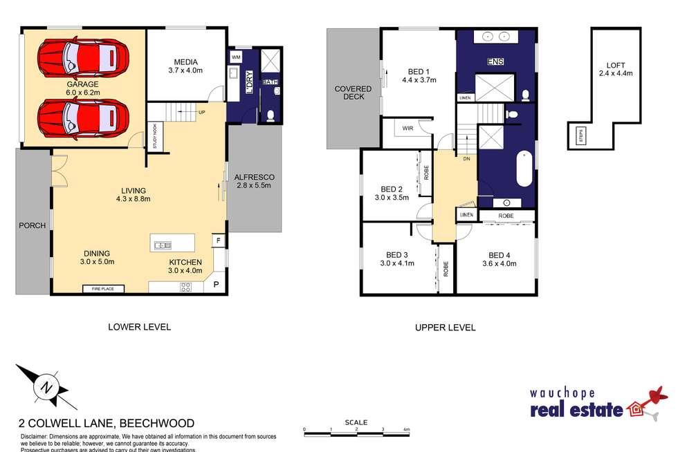 Floorplan of Homely house listing, 2 Colwell Lane, Beechwood NSW 2446