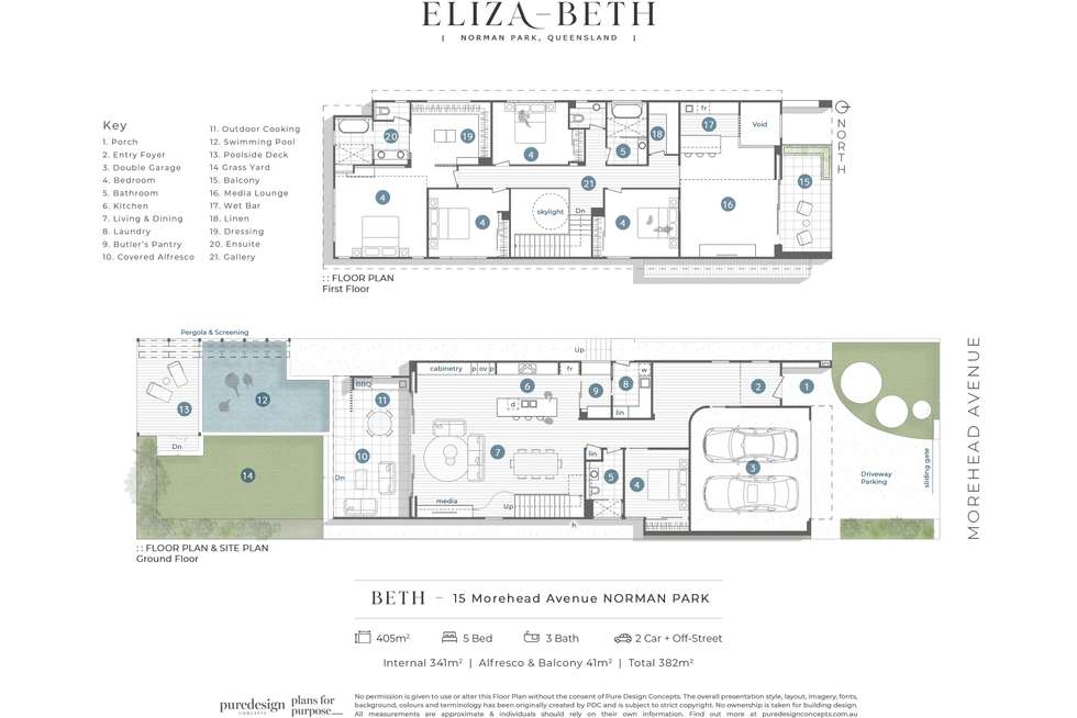 Floorplan of Homely house listing, 17 Morehead Avenue, Norman Park QLD 4170