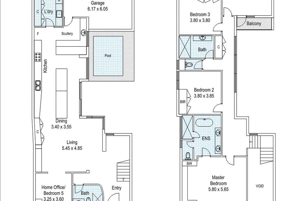 Floorplan of Homely house listing, 60 Stadium Drive, Floreat WA 6014