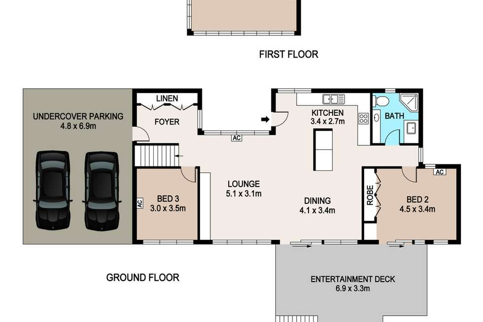 Floorplan of Homely house listing, 3 Coorong Court, Stuart Park NT 820