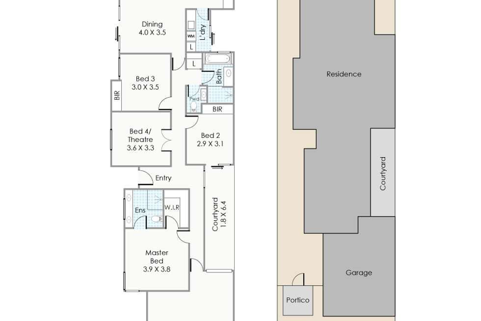 Floorplan of Homely house listing, 27 Napier Road, Morley WA 6062