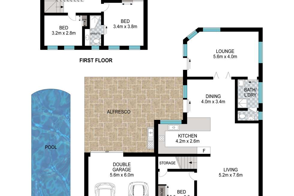 Floorplan of Homely house listing, 35 Rabett Cres, Horningsea Park NSW 2171