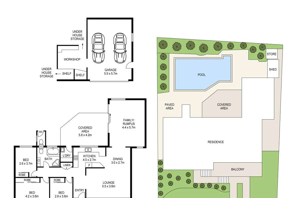 Floorplan of Homely house listing, 11 Cliff Avenue, Peakhurst Heights NSW 2210