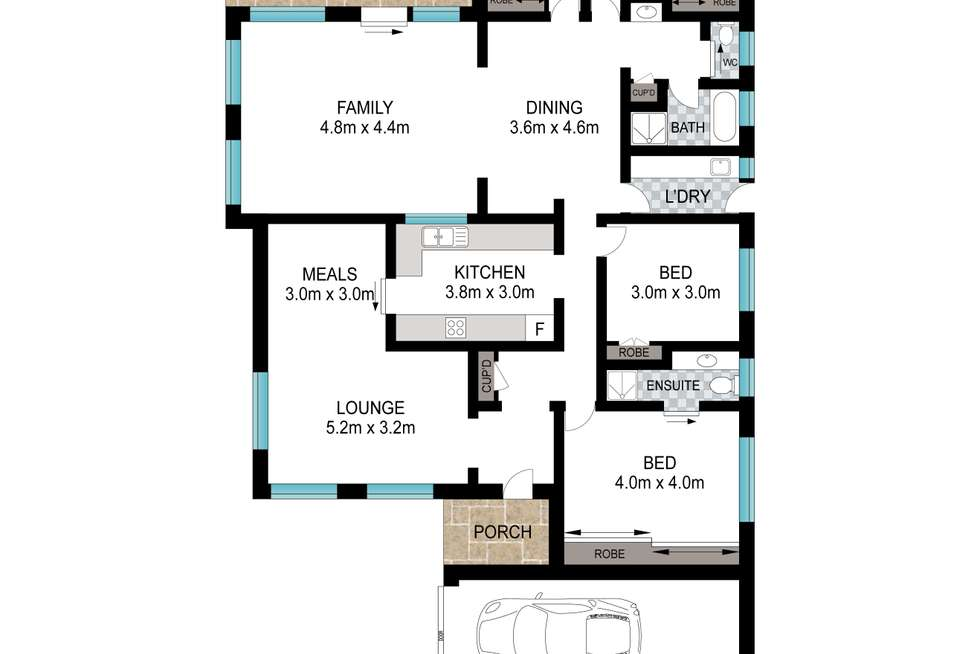 Floorplan of Homely house listing, 202 Green Valley Rd, Green Valley NSW 2168