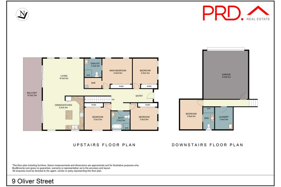 Floorplan of Homely house listing, 9 Oliver Street, Tamworth NSW 2340