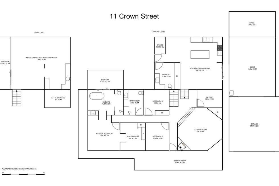 Floorplan of Homely house listing, 11 Crown Street, Grafton NSW 2460
