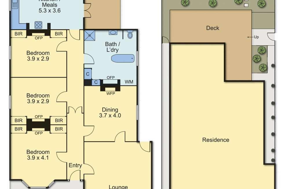 Floorplan of Homely house listing, 142 Stephen Street, Yarraville VIC 3013