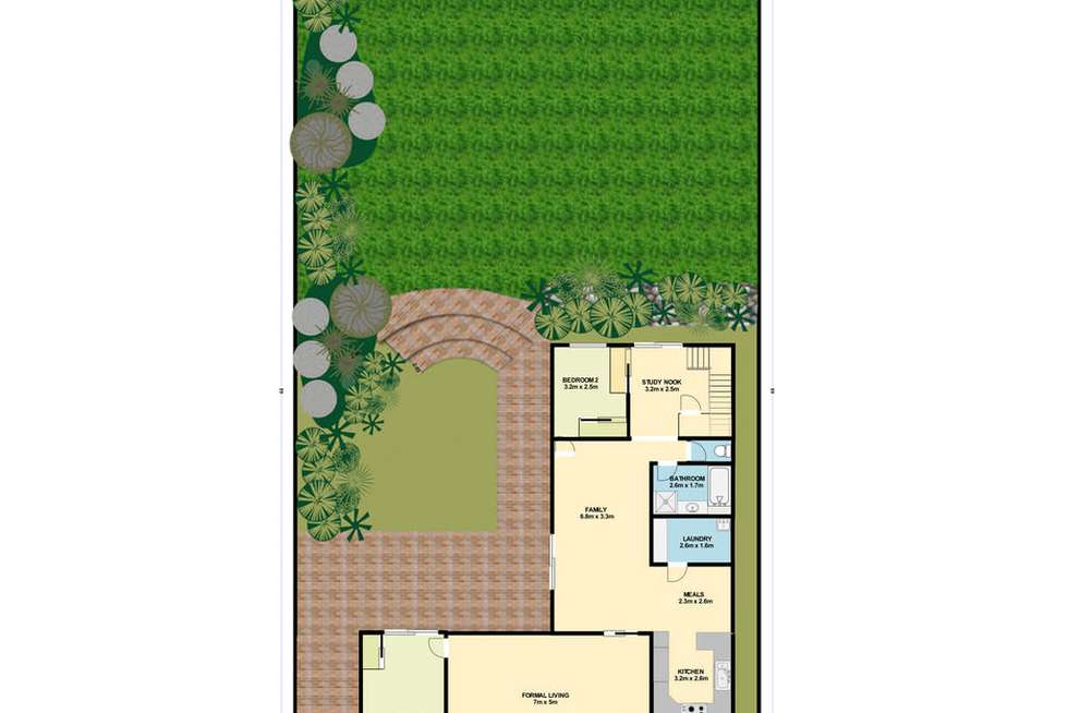Floorplan of Homely house listing, 7 Branter Road, Nords Wharf NSW 2281