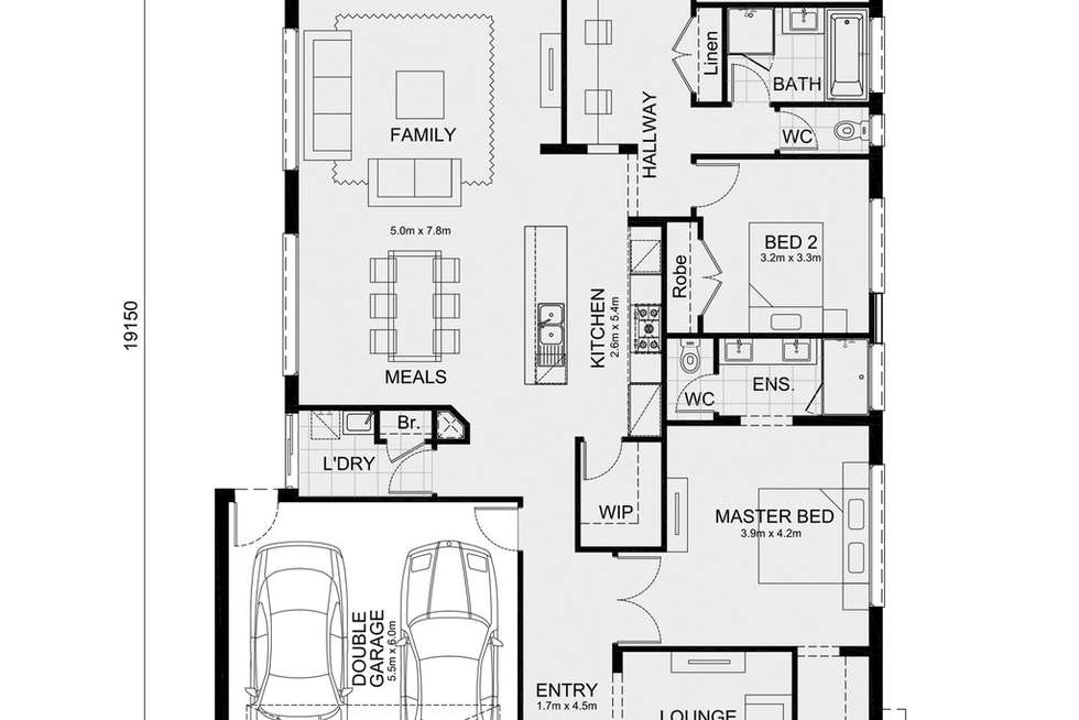 Floorplan of Homely house listing, 5 MT. COTTRELL, Truganina VIC 3029
