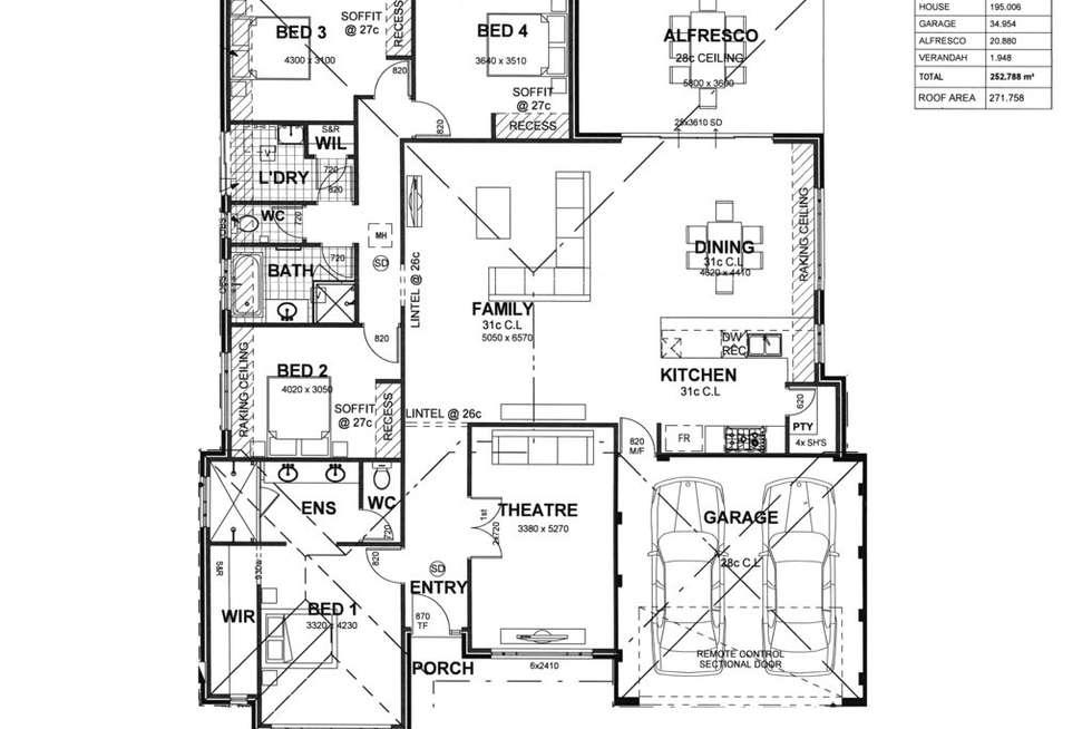 Floorplan of Homely house listing, 14 Ameer Way, Beeliar WA 6164