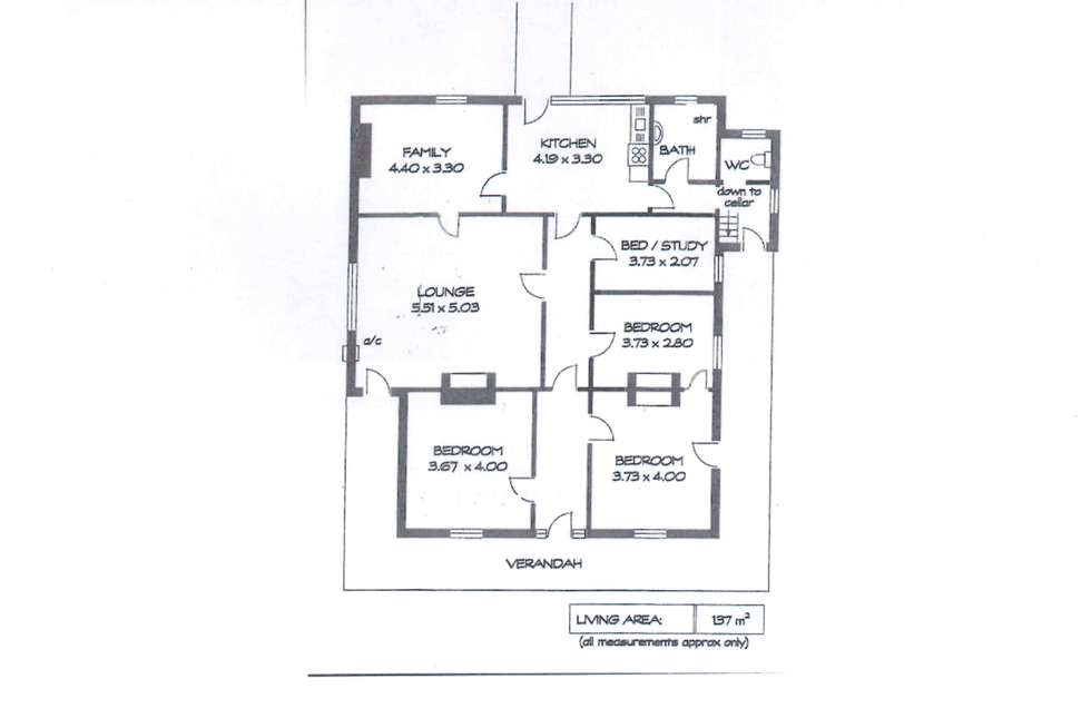 Floorplan of Homely house listing, 104 Russell Street, Rosewater SA 5013