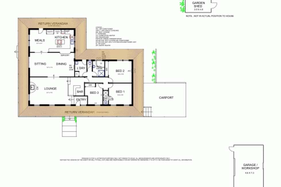 Floorplan of Homely house listing, 60 Marshall Avenue, Macedon VIC 3440