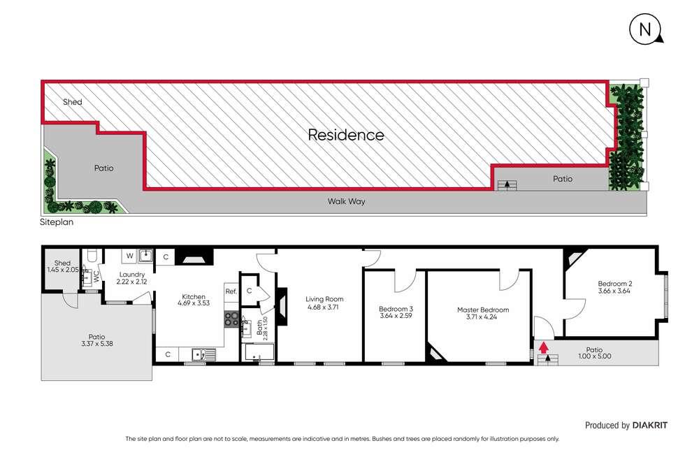 Floorplan of Homely house listing, 26 Union Street, Prahran VIC 3181
