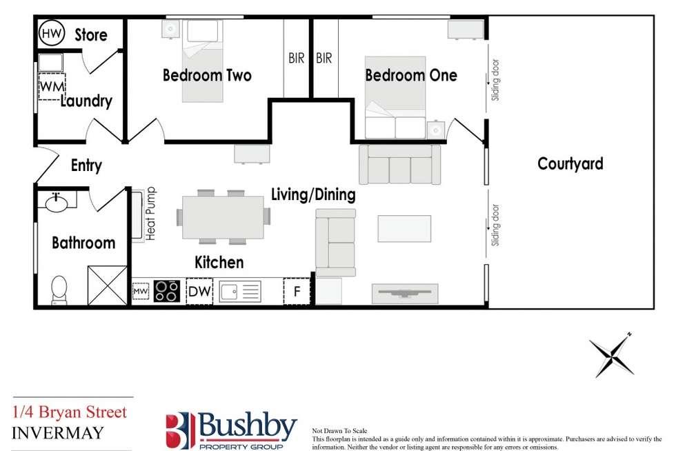 Floorplan of Homely house listing, 1/4 Bryan Street, Invermay TAS 7248