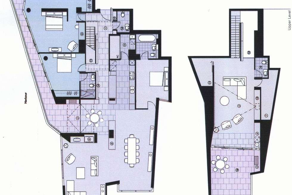 Floorplan of Homely house listing, 301/55 Victoria Harbour Promenade, Docklands VIC 3008