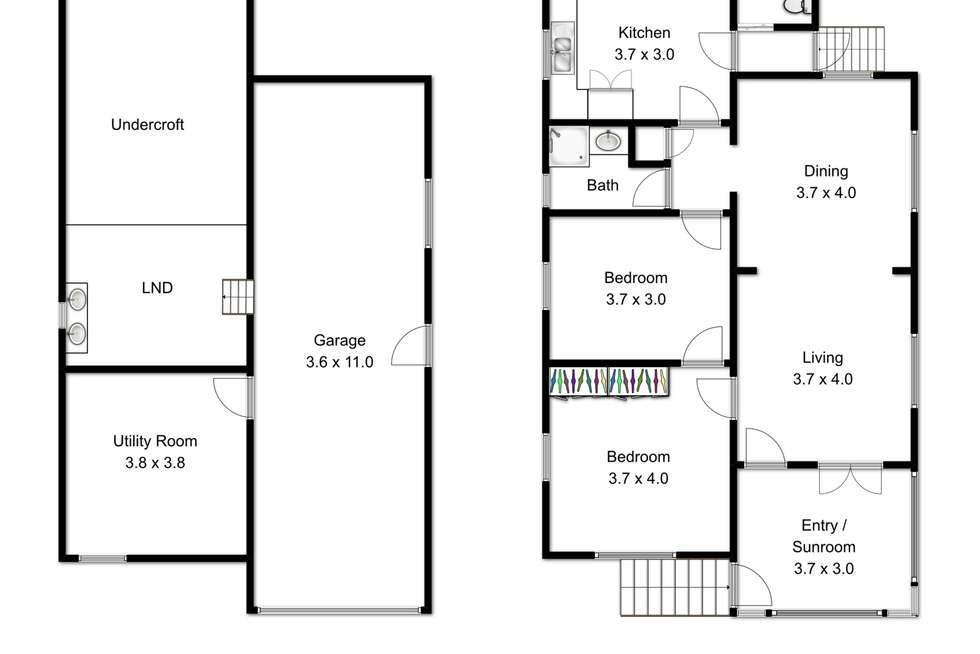 Floorplan of Homely house listing, 131 Wilston Road, Newmarket QLD 4051