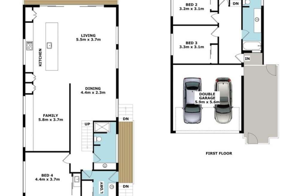Floorplan of Homely house listing, 30 Lansdowne Street, Newmarket QLD 4051