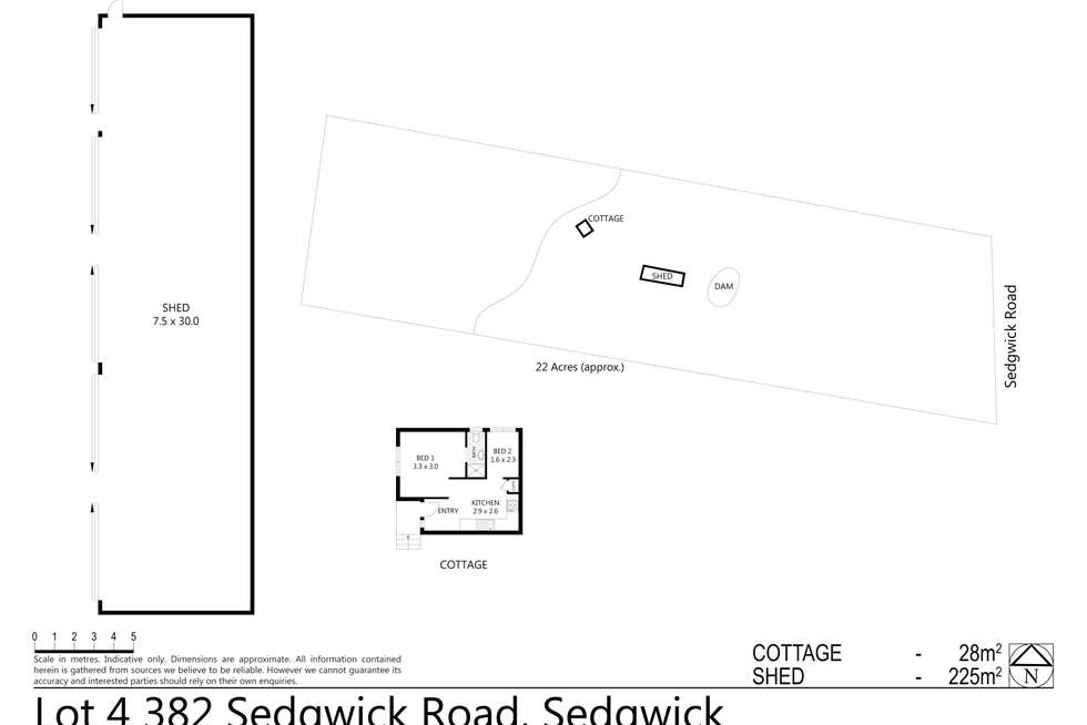 Floorplan of Homely house listing, Lot 4/382 Sedgwick Road, Sedgwick VIC 3551