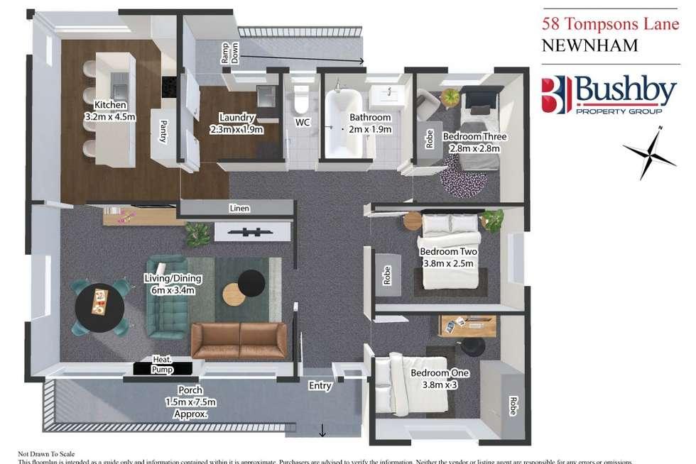 Floorplan of Homely house listing, 58 Tompsons Lane, Newnham TAS 7248