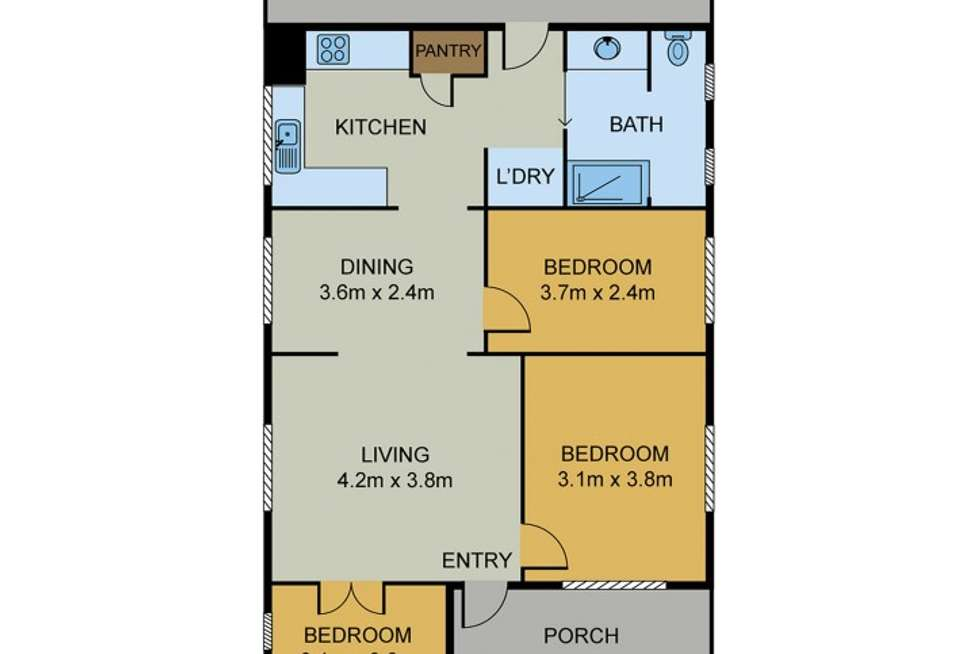 Floorplan of Homely house listing, 56 Alderson Street, Newmarket QLD 4051