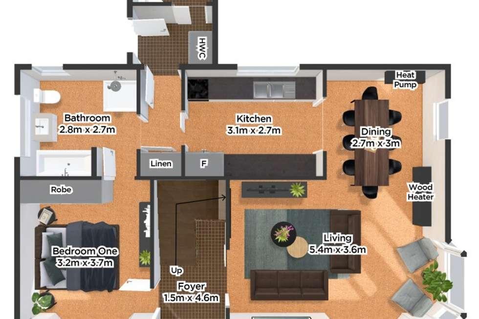 Floorplan of Homely house listing, 5 Meika Court, Swan Bay TAS 7252