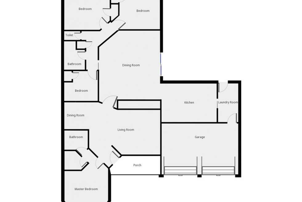 Floorplan of Homely house listing, 3 Leigh Place, Raymond Terrace NSW 2324