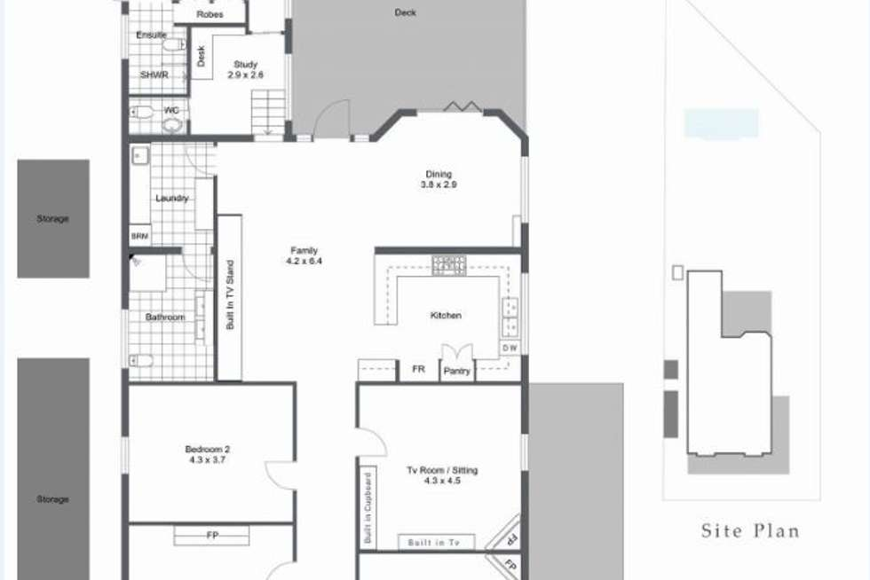 Floorplan of Homely house listing, 34 Market Street, Guildford WA 6055