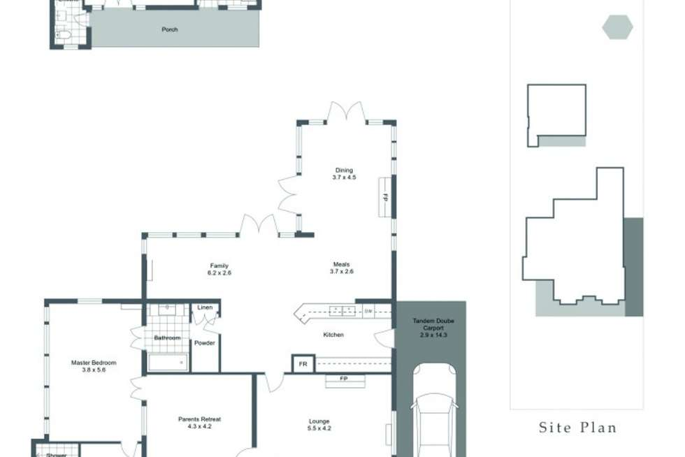 Floorplan of Homely house listing, 5 Water Street, Guildford WA 6055