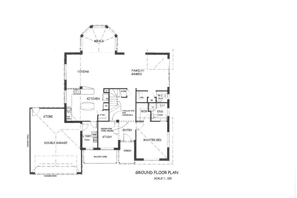 Floorplan of Homely house listing, 23A Ramsay Street, Karrinyup WA 6018