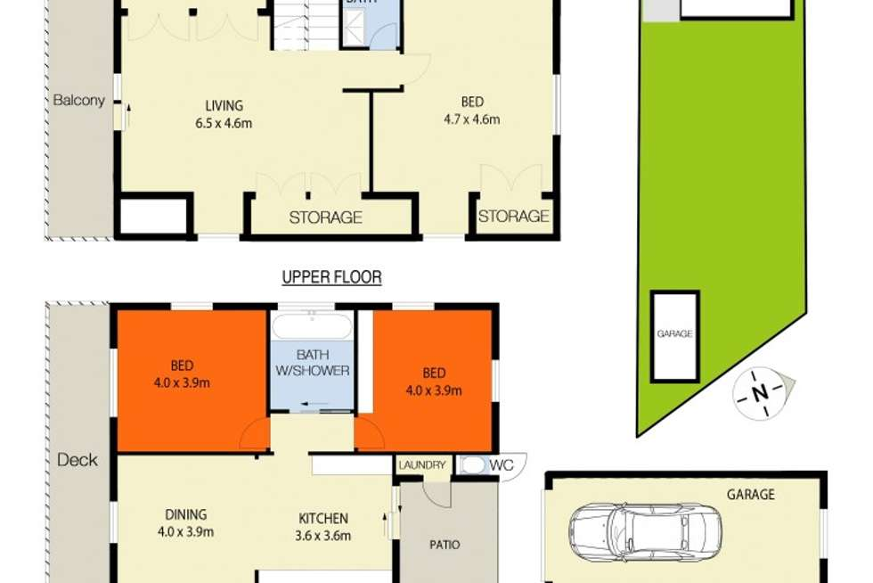 Floorplan of Homely house listing, 23 Marine Parade, Nords Wharf NSW 2281