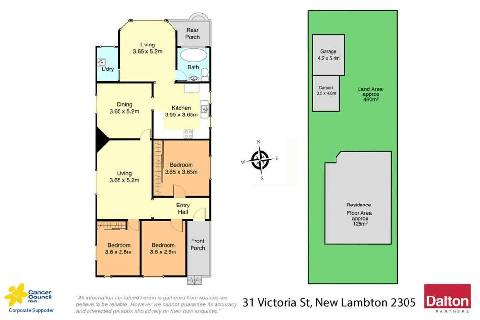 Floorplan of Homely house listing, 31 Victoria Street, New Lambton NSW 2305