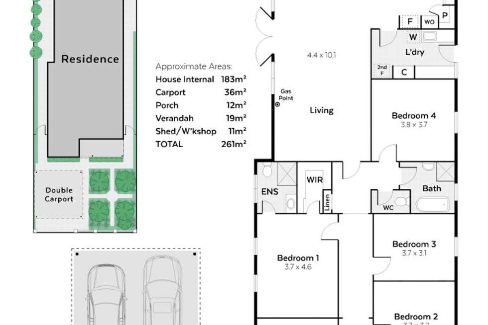 Floorplan of Homely house listing, 8 Waverley Street, Shenton Park WA 6008