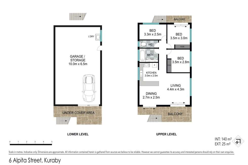 Floorplan of Homely house listing, 6 Alpita Street, Kuraby QLD 4112