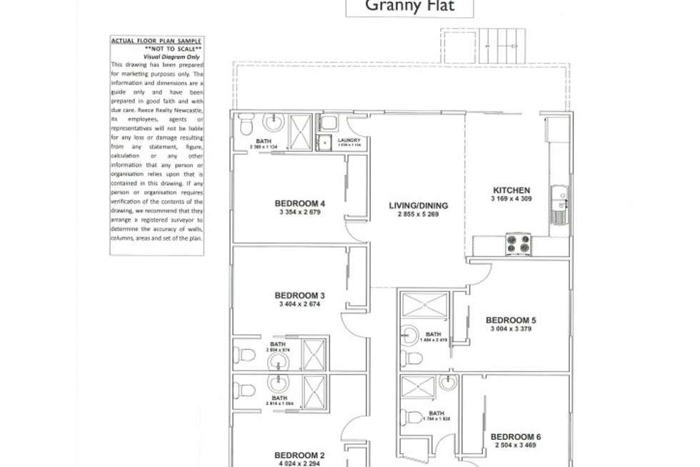 Floorplan of Homely house listing, 65 Fussell Street (granny flat), Birmingham Gardens NSW 2287