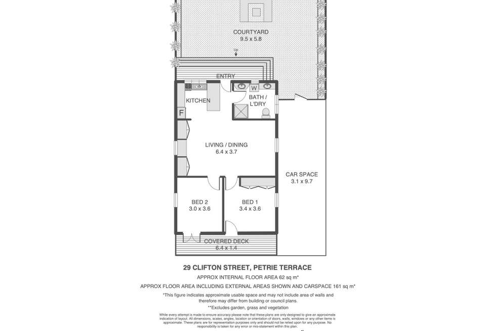 Floorplan of Homely house listing, 31 Clifton Street, Petrie Terrace QLD 4000