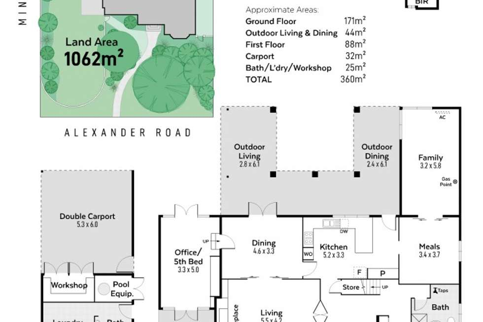 Floorplan of Homely house listing, 48 Alexander Road, Dalkeith WA 6009
