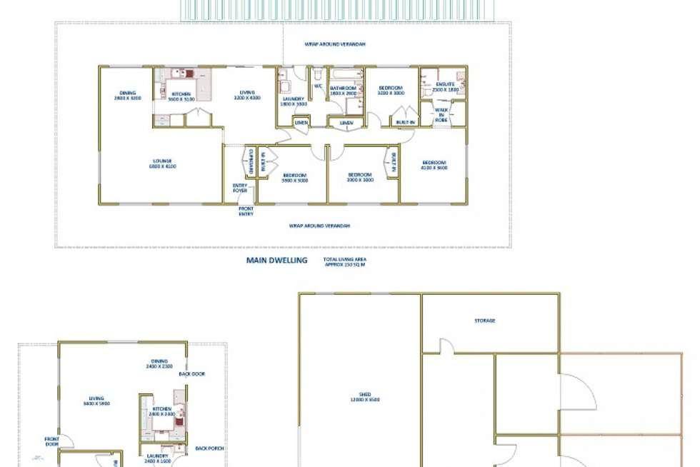 Floorplan of Homely acreageSemiRural listing, 83 Marsden Street, Shortland NSW 2307