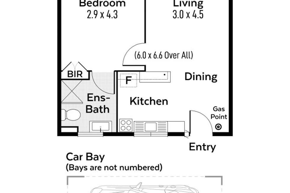 Floorplan of Homely apartment listing, 11/3 Cullen Street, Shenton Park WA 6008