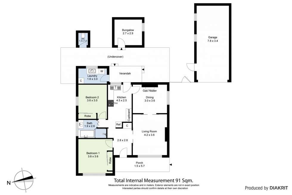 Floorplan of Homely house listing, 7 Stephenson Street, Spotswood VIC 3015